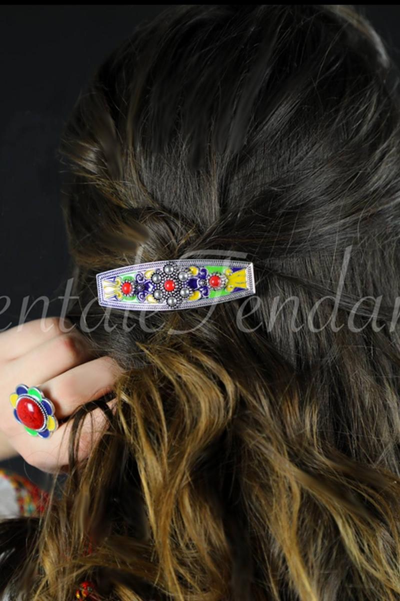 "Barrette hair ""Kabyles patterns"""
