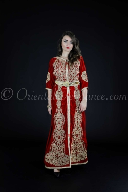 Ilyana Kaftan with belt