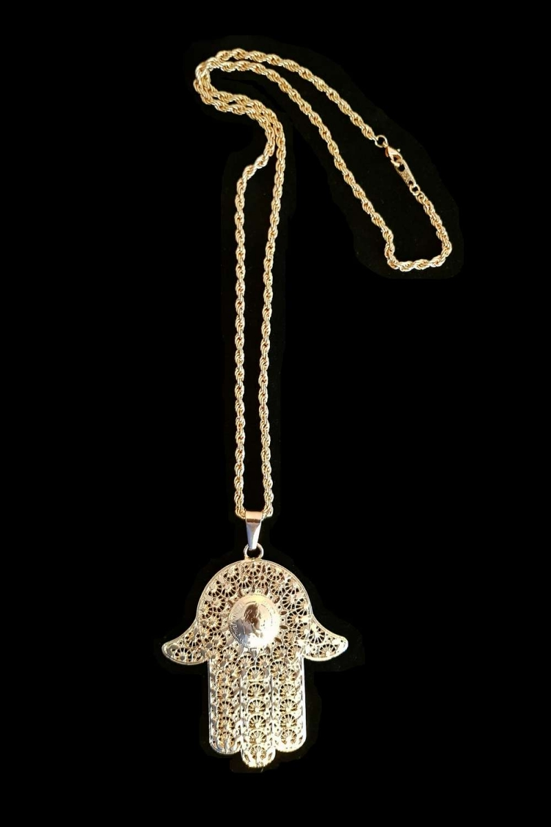 "Collier ""Main de Fatma"""