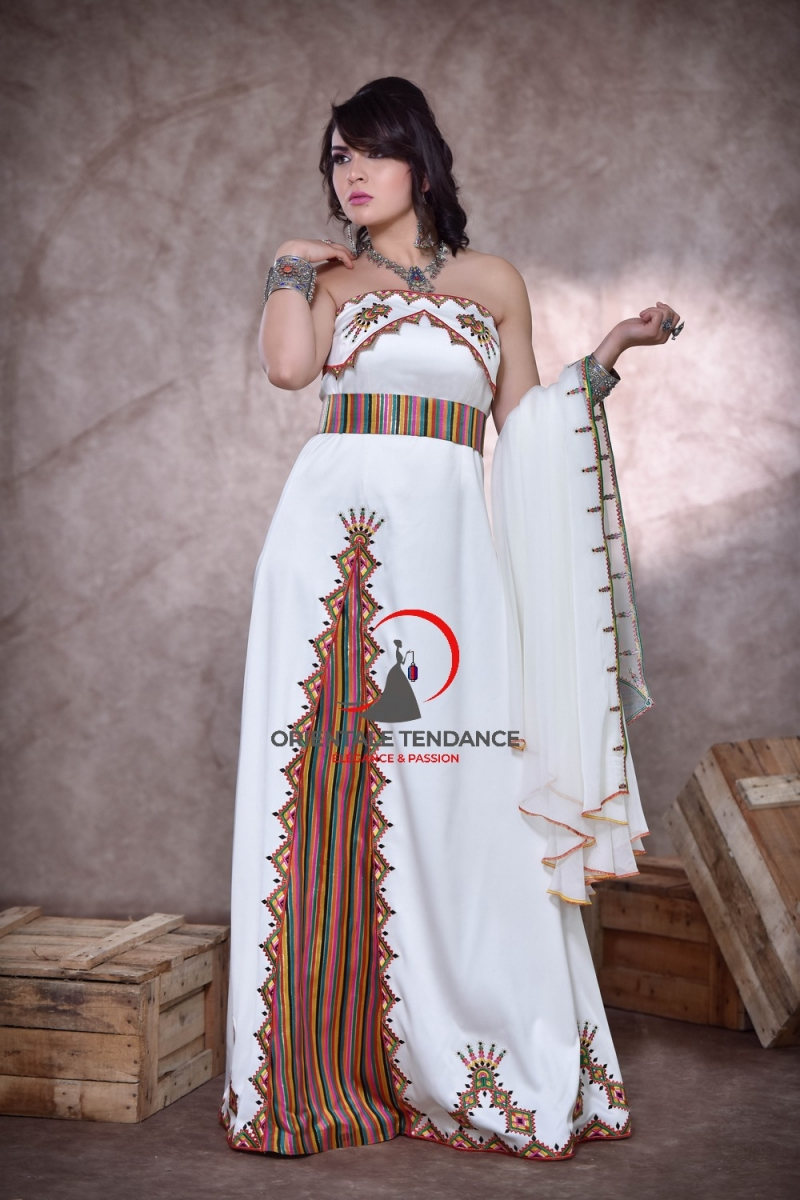 Kabyle bustier dress