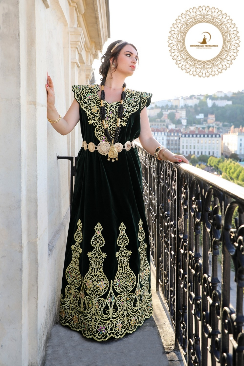 Robe traditionnelle Fergani