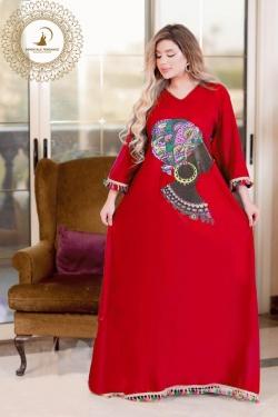 Printed home Dress